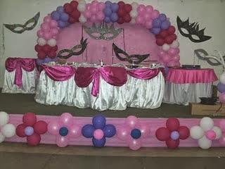 Fotos de Decoração de Festa a Fantasia