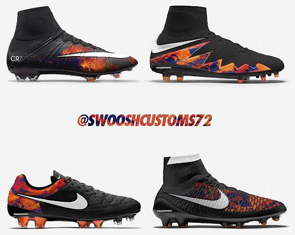 Exceptionnel Nike Cristiano Ronaldo Lava Hypervenom, Magista and Tiempo Boots  BE76