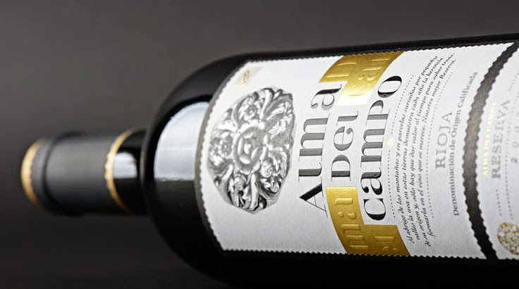 design labels bottiglia lettering marketing branding rioja