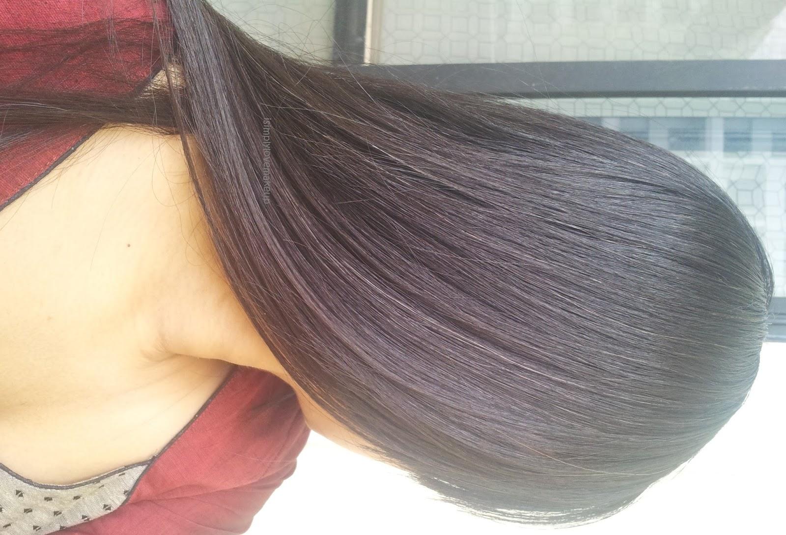 Black Cherry Hair Hair swatch