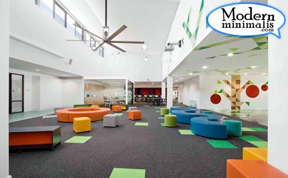 decorative school interior wall design