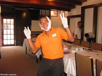 EFR course, Imperial Boathouse, Choengmon, Koh Samui, Thailand bandaging
