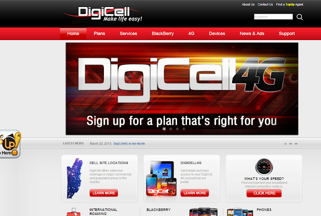 Digicell new website 2013