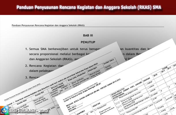Panduan Penyusunan Rencana Kegiatan dan Anggara Sekolah (RKAS) SMA