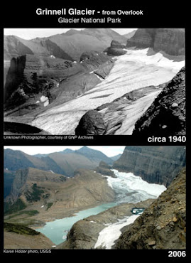 Grinnell Glacier Then and Now