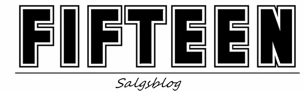 Salgsblog by FIFTEEN