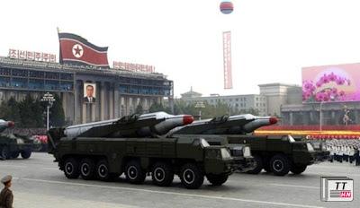 Tên lửa Musudan của Triều Tiên, có tầm bắn trên 3000km, có thể bắn tới Guamvà Nhật, Hàn