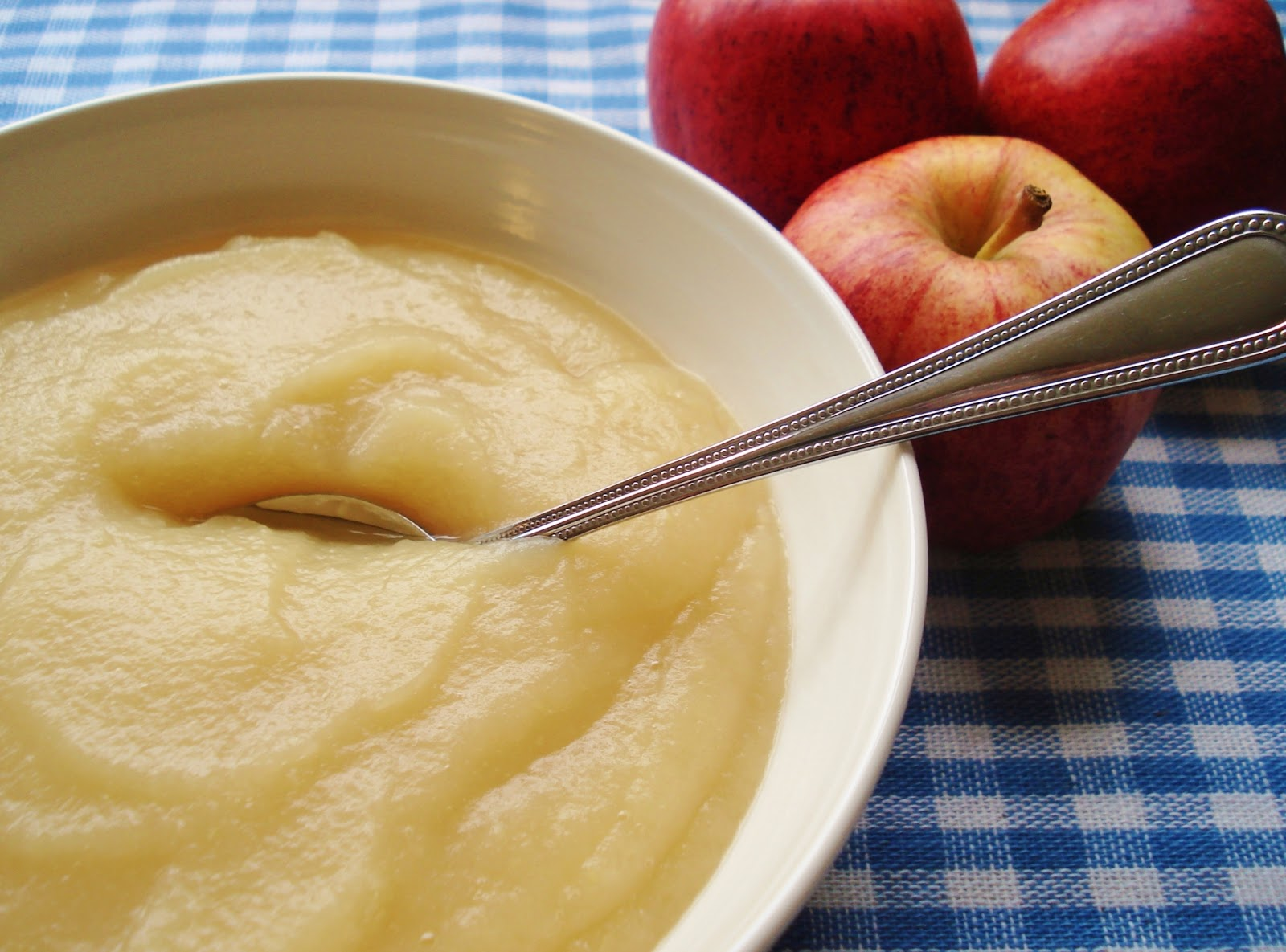 Apple sauce reminds me of late Summer and warmer days and being out in ...