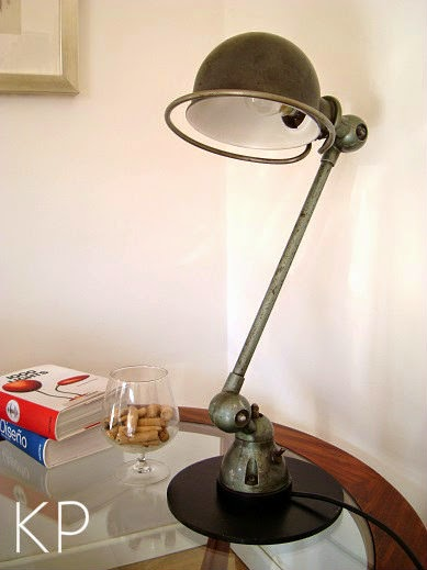Comprar lámpara JIELDE  de mesa un brazo articulada estilo industrial valencia
