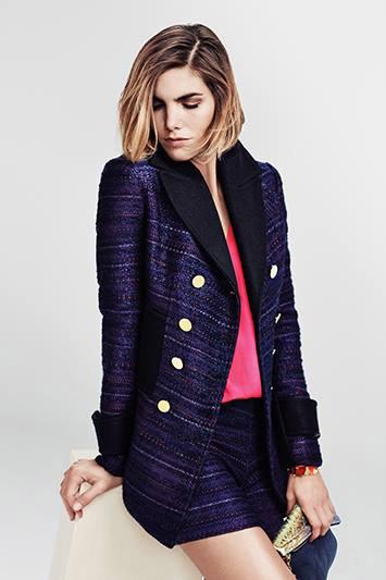 Vitamina otoño invierno 2015 moda casual chic.