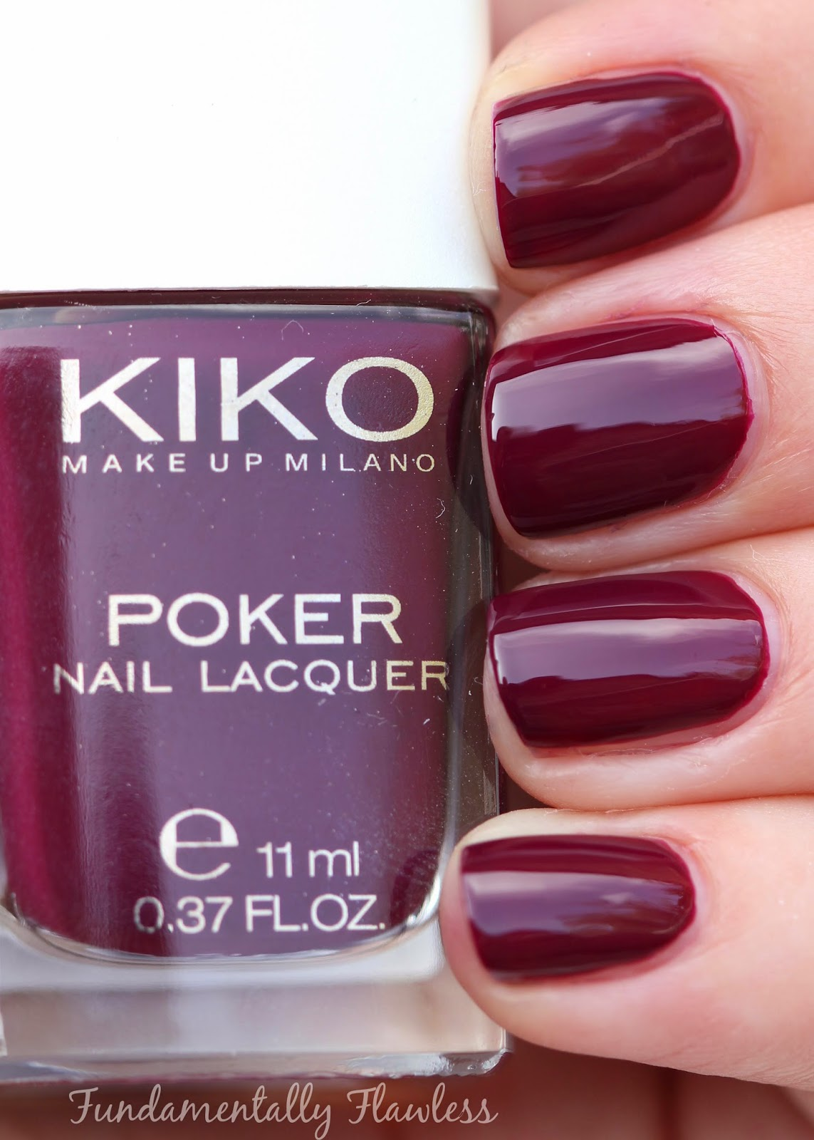 Kiko Daring Game Collection Intuition Wine swatch