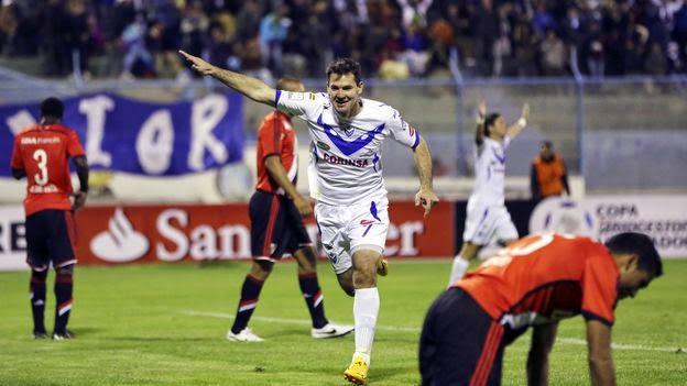 San Jose, gol, River, River Plate, Copa Libertadores, Libertadores, 2015,