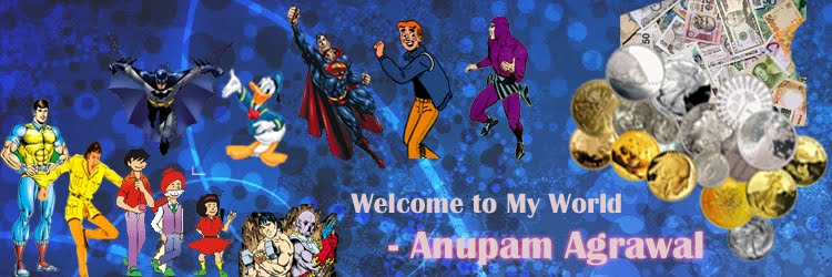 Welcome to My World - Anupam Agrawal