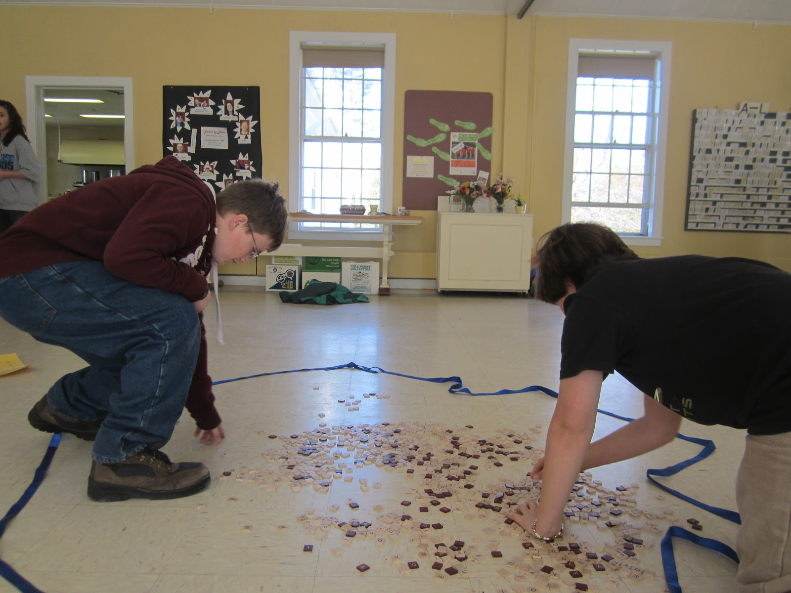 Monhegan Madness: Middle School Retreat - Day 2: Team Building ...