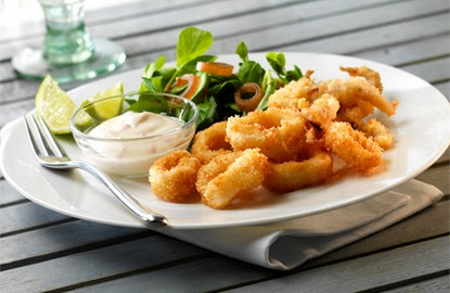 Crunchy Fried Squid Recipe
