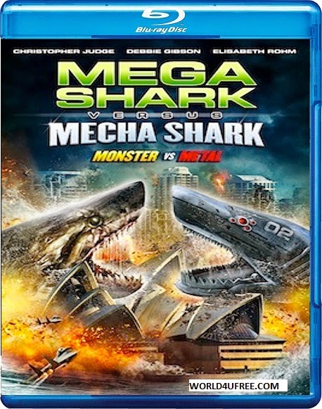 Mega Shark vs Mecha Shark 2014 BRRip 480p 300mb