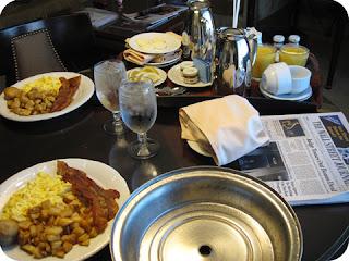 Image du petit déjeuner américain au Venetian