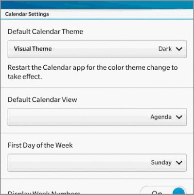 Las opciones son lo que los usuarios de BlackBerry quieren, aquellos de ustedes que han instalado filtrado del OS 10.2 se han dado cuenta de BlackBerry ha estado probando dos temas uno oscuro y otro blanco para los dispositivos BlackBerry 10, específicamente el dispositivo BlackBerry Q10 ya viene con el tema negro pre-instalado, Pero con el OS 10.2 se ofrecerá un tema blanco. El gerente de producto de BlackBerry Michael Clewley anunció a través de su canal de BBM que la opción de cambiar de cambiar el tema Claro/Oscuro estará disponible muy pronto.