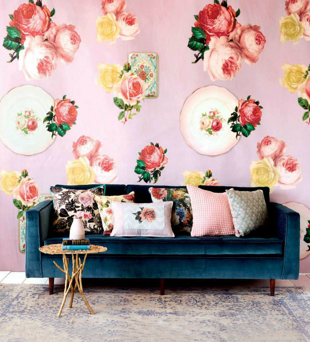 Home Decor Magazine 3 floral home decor diys from ideas magazine. | poppytalk