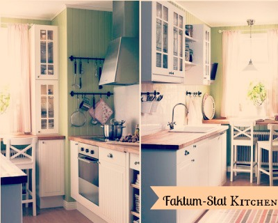 ikea kitchen - shabbyecountrylife.blogspot.it