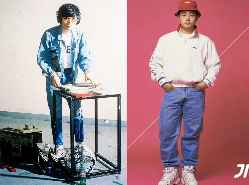 年代リバイバルを音楽やファッションで体現してる人達が、日本でも今起きてる80年代90年代のリバイバルブームよりもよりリアルな感じしておっっもしろいです。