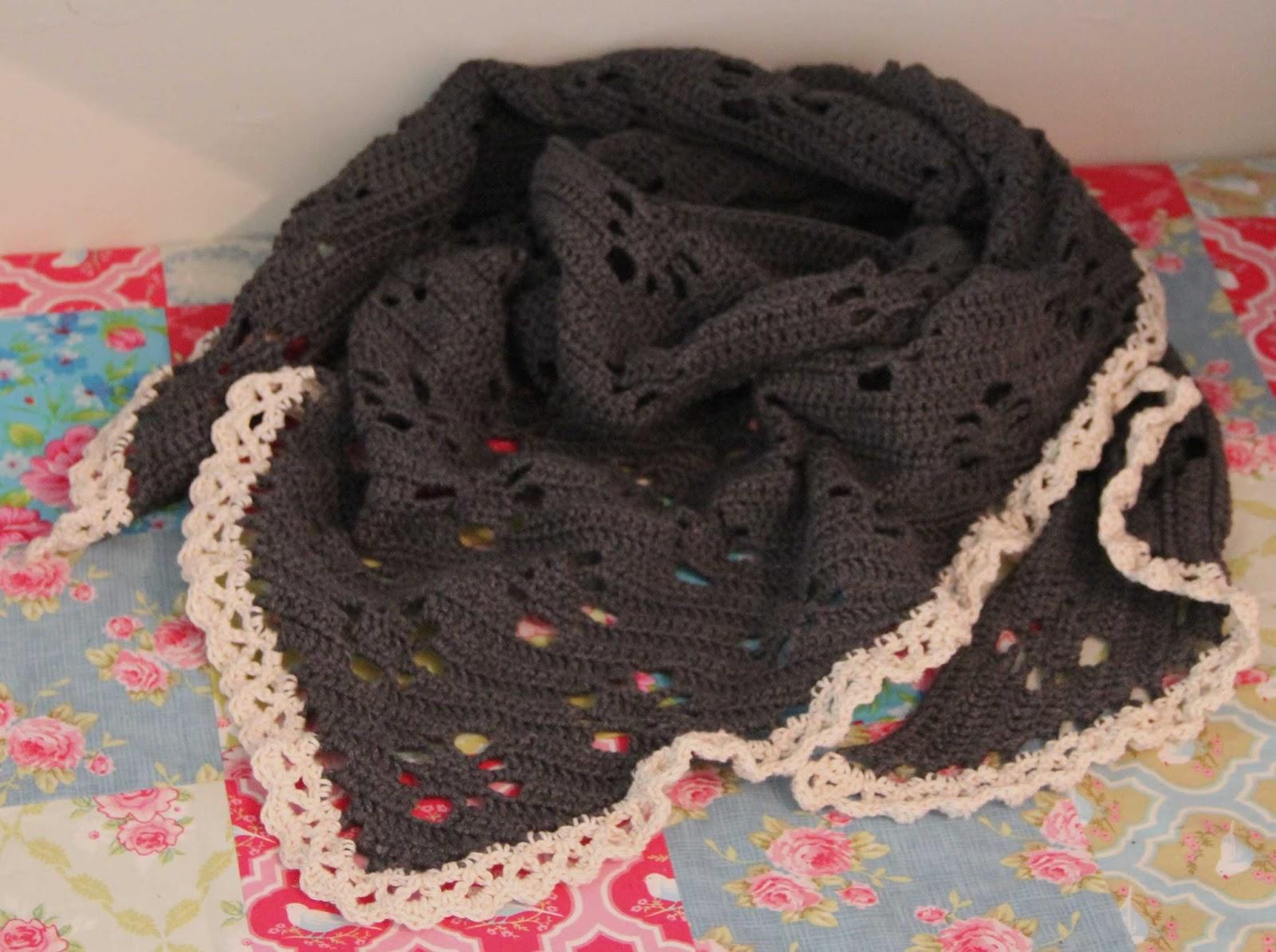 crochet shawl patern