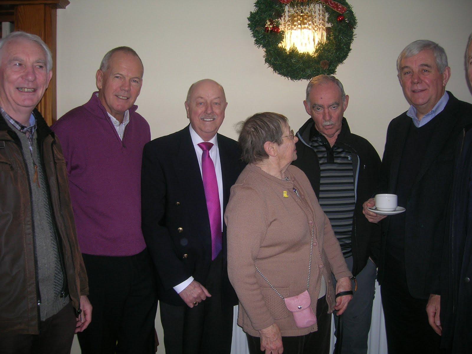Michael, Pat, Denis, Frank and Padraic