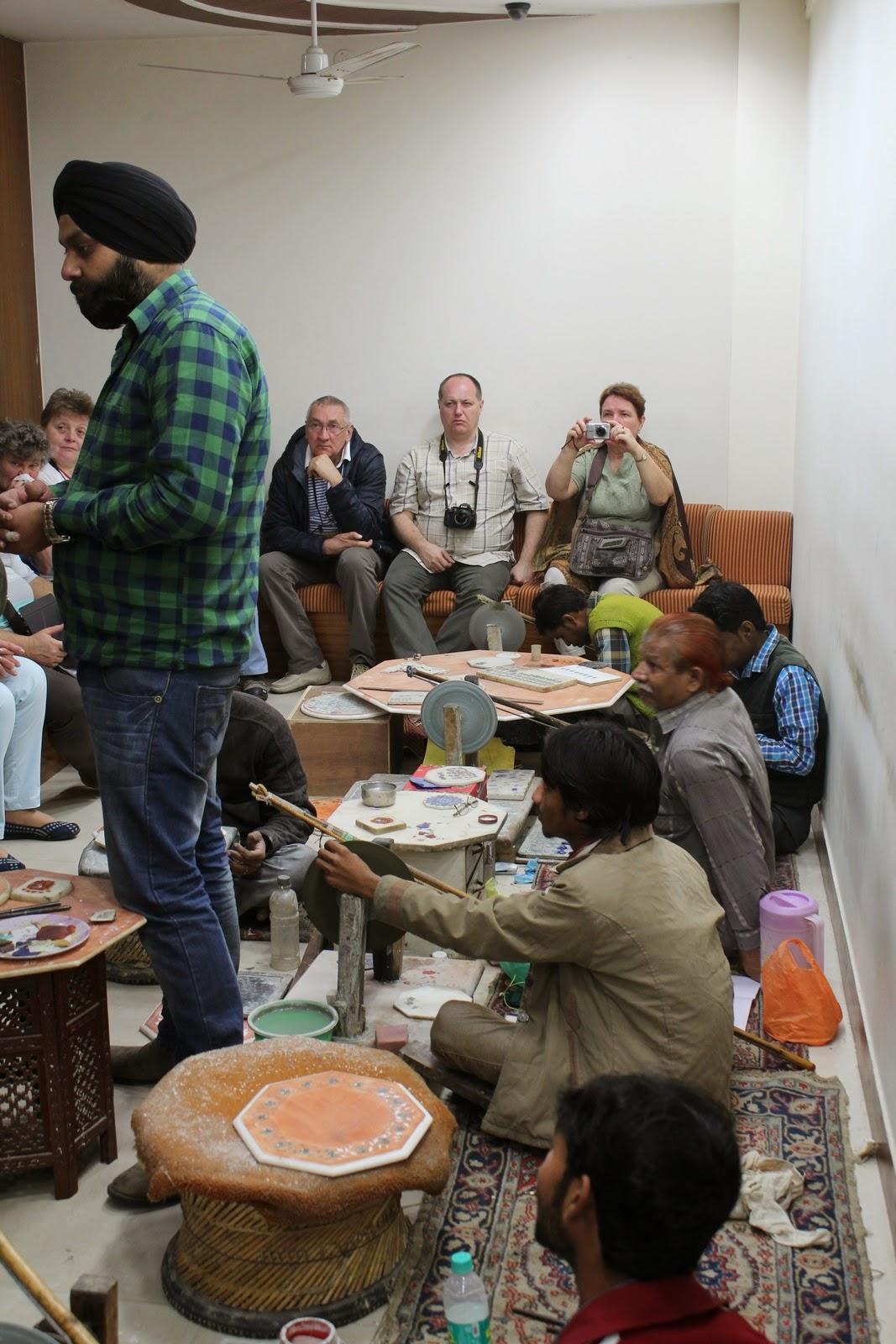 India: márványberakás