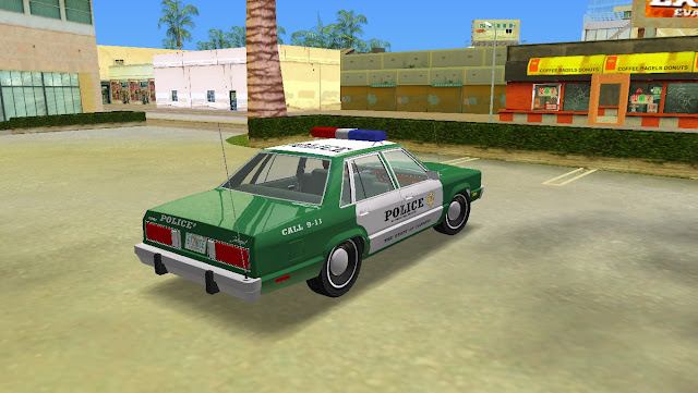 Ford Fairmont 4dr Police 1978 GTA Vice City