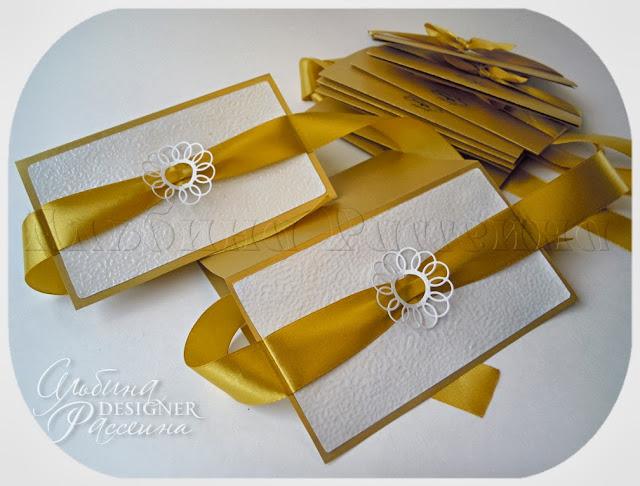 Свадебные приглашения открытки.