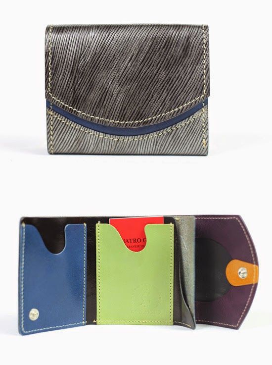 小さい財布ヌレバ