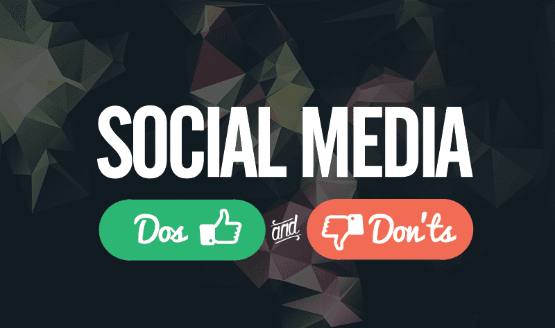 Dos and Don'ts of #SocialMedia for Small Businesses - #infographic