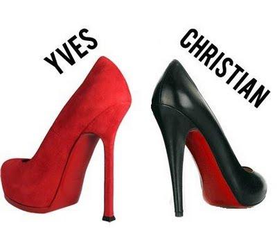 Zapatos Yves Saint Laurent Suela Roja
