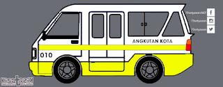 Trayek dan Info Angkot 010 di Tasikmalaya | Kisatasik
