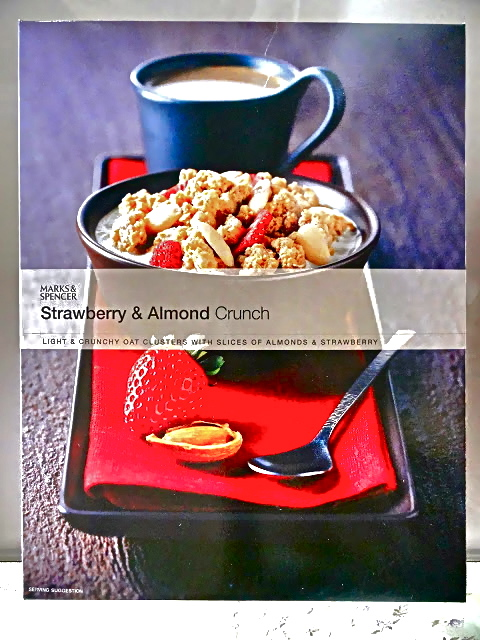 Strawberry and Almond Crunch Cereal from Marks and Spencer