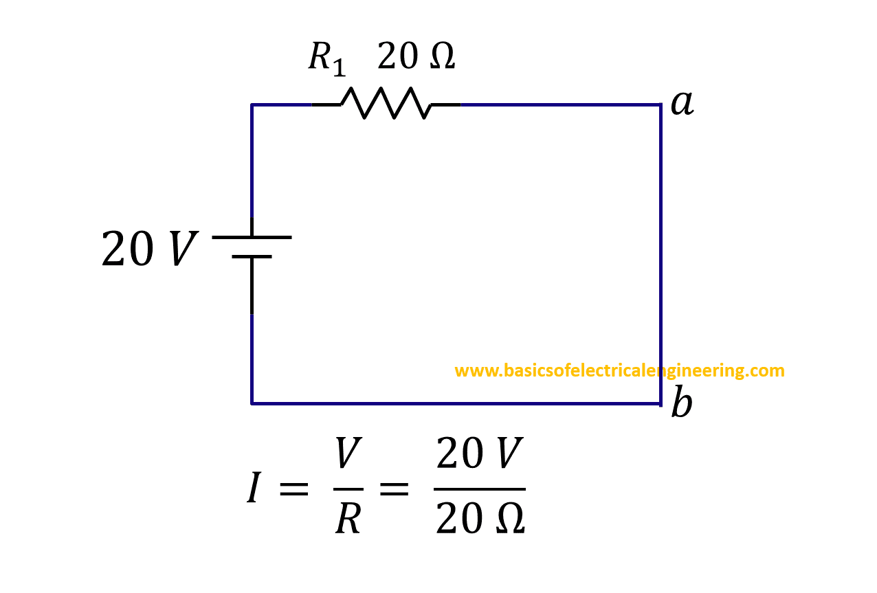 Norton Theorem Basics Of Electrical Engineering Below Is A Current Divider Circuit With Voltage Source Step 4a