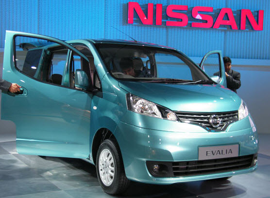 car barn sport nissan evalia 2012. Black Bedroom Furniture Sets. Home Design Ideas