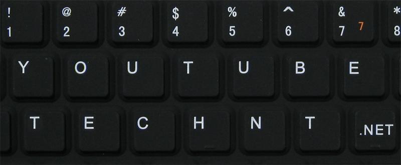 إختصارات لوحة المفاتيح للحكم بالفيديو على موقع اليوتيوب _ التقنية نت _ technt.net