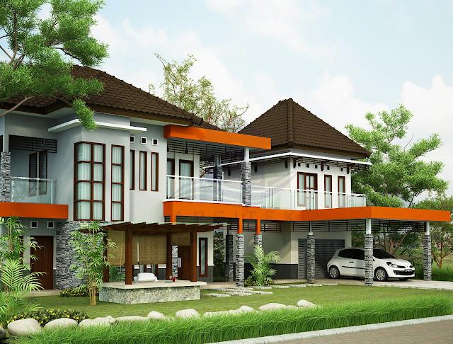 Desain Eksterior Renovasi Rumah Bapak Arif Malang