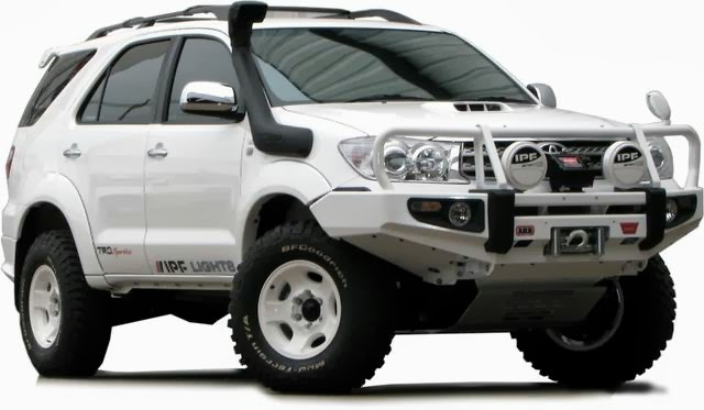 modifikasi toyota fortuner offroad