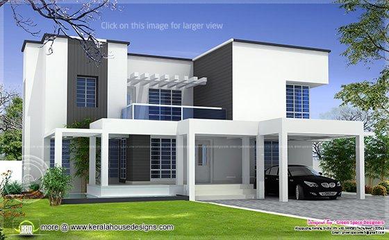 Vastu based box type modern home design | House Design Plans