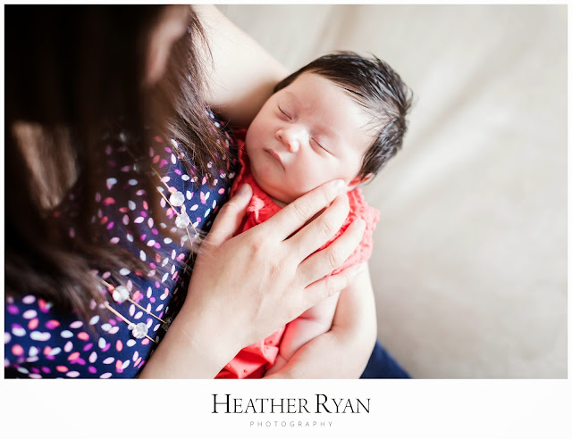 Greenbelt, MD Newborn Photography | Photos by Heather Ryan Photography