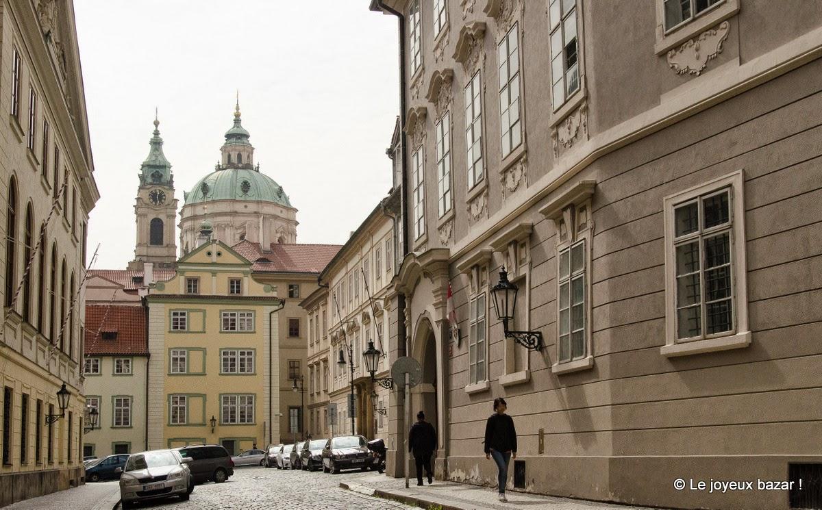 Prague - Mala Strana - eglise Saint Nicolas