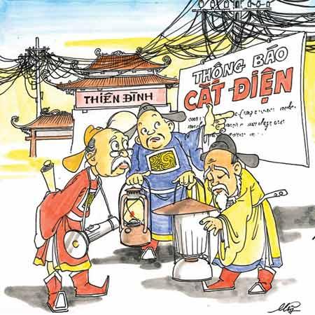 Biếm họa chất lượng cung cấp điện