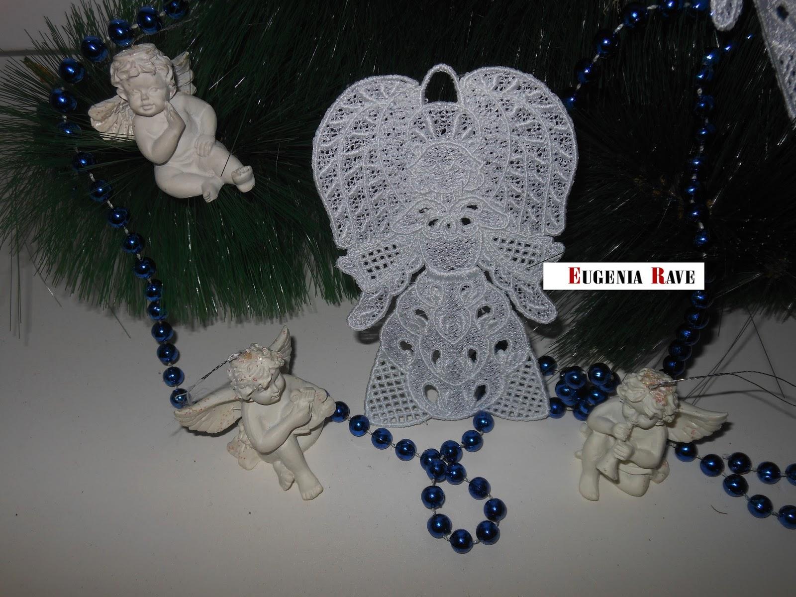 рукоделие, хэндмейд, ангелочки. украшение на ёлку