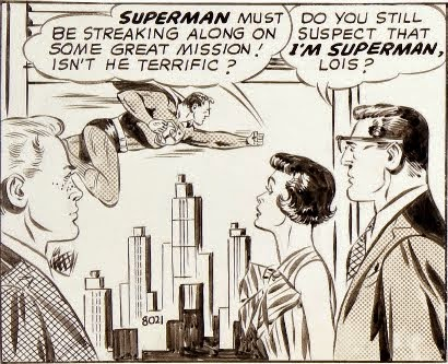 A Single Panel: Superman