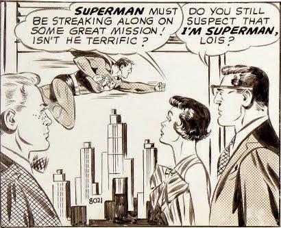 A Single Panel: Superman