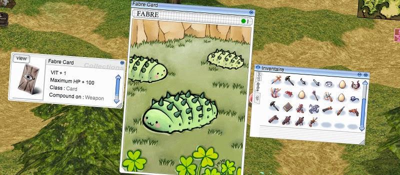 Ragnarok Online Card system