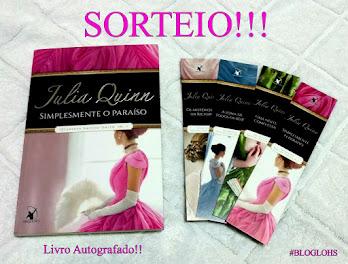 #Sorteio: Julia Quinn!