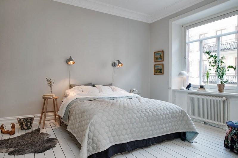 dormitorio decoración nórdica